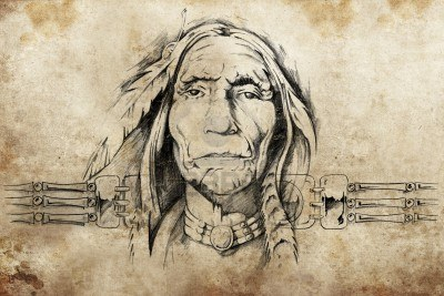 13028723-sketch-of-american-indian-elder-tattoo